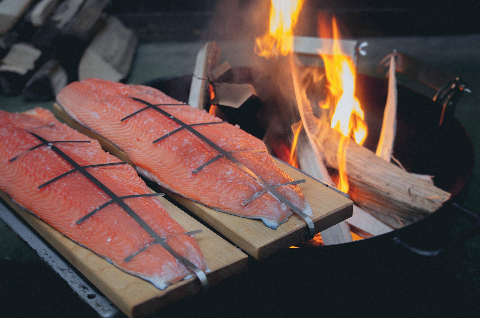 Finnischer Flammlachs Zubereitung Informationen